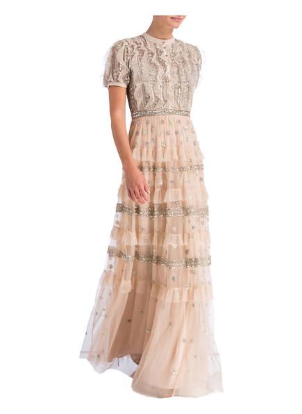 needle & thread Abendkleid mit Paillettenbesatz