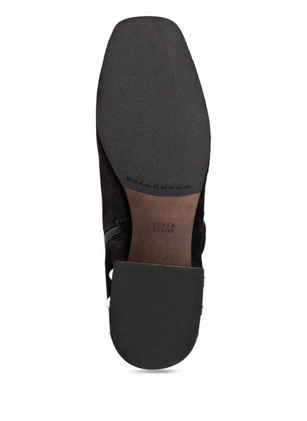 ELVIO ZANON Overknee-Stiefel mit Perlenbesatz