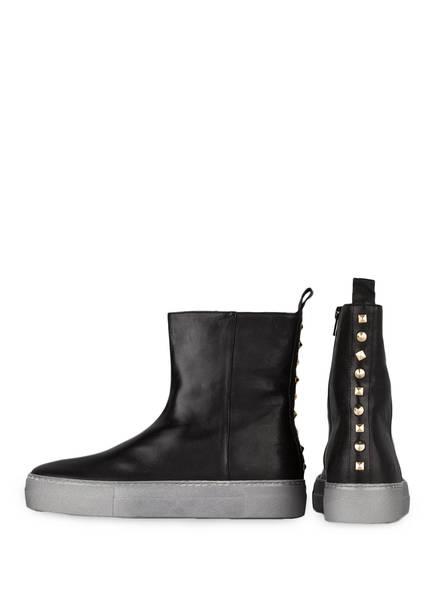 DONNA CAROLINA Hightop-Sneaker  mit Nietenbesatz