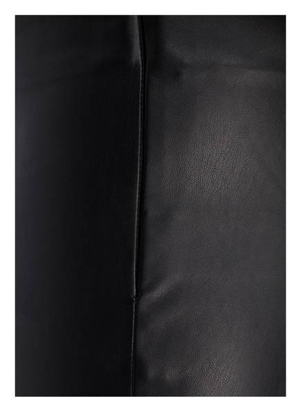 soyaconcept Leggings in Leder-Optik