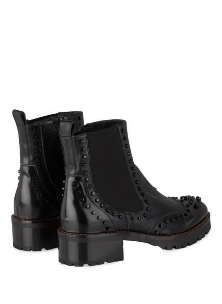 ZINDA Chelsea-Boots mit Nietenbesatz