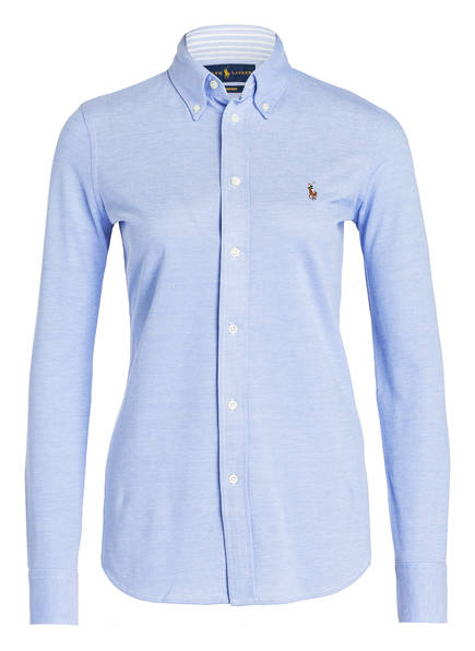 POLO RALPH LAUREN Bluse, Farbe: HELLBLAU (Bild 1)