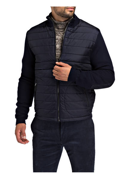 POLO RALPH LAUREN Strickjacke im Material-Mix