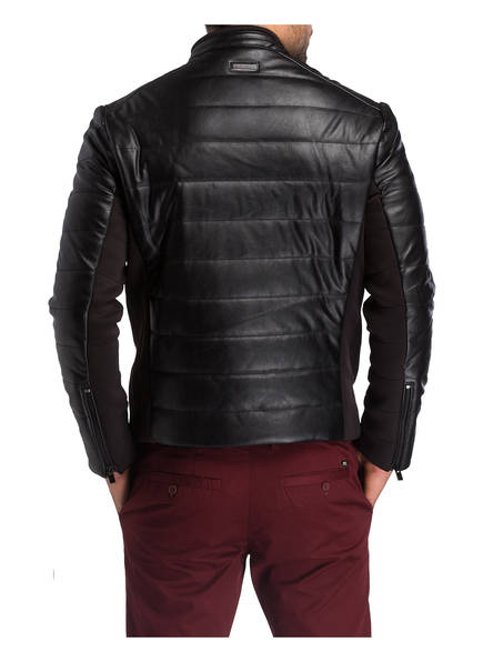 ARMANI EXCHANGE Steppjacke in Lederoptik