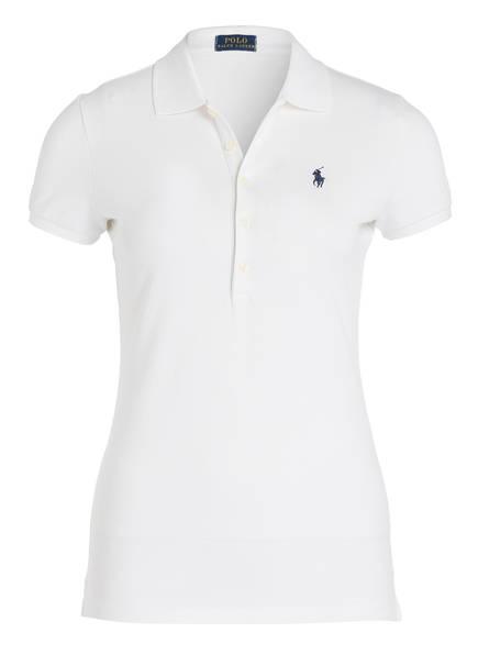 POLO RALPH LAUREN Piqué-Poloshirt , Farbe: 011 WHITE (Bild 1)