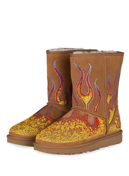UGG Fell-Boots made with SWAROVSKI ELEMENTS