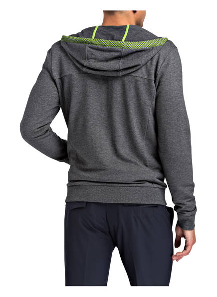BOSS Green Sweatjacke SAGGY mit Kapuze