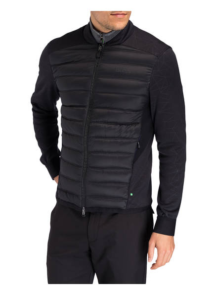 BOSS Green Golfjacke JALMSTAD PRO Slim Fit im Materialmix