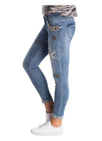 CARTOON Jeans mit Schmucksteinbesatz