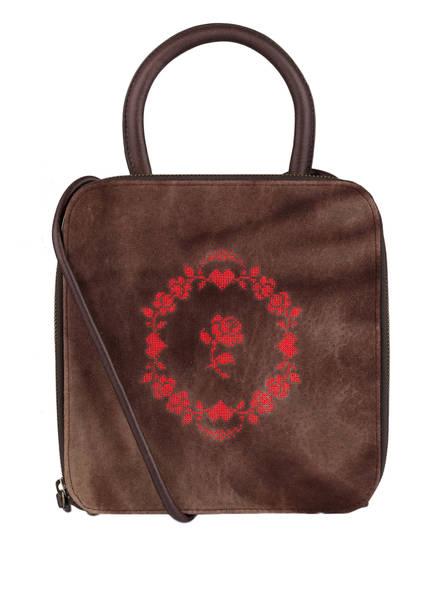 OWA Handtasche AMELIE, Farbe: DUNKELBRAUN (Bild 1)