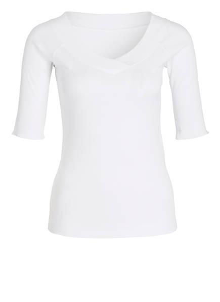 MARC CAIN T-Shirt, Farbe: 100 WEISS (Bild 1)
