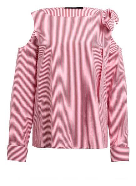 STEFFEN SCHRAUT Bluse, Farbe: WEISS/ ROT GESTREIFT (Bild 1)