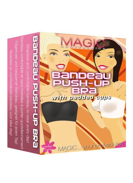 MAGIC BODYFASHION Bandeau-BH PUSH UP BRA