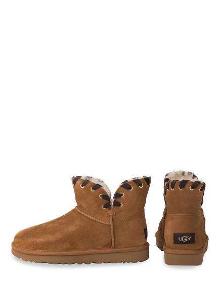 UGG Fell-Boots AIDAH MINI<br>          gef&uuml;ttert