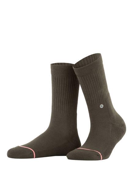 STANCE Socken UNCOMMON CLASSIC , Farbe: GRÜN (Bild 1)