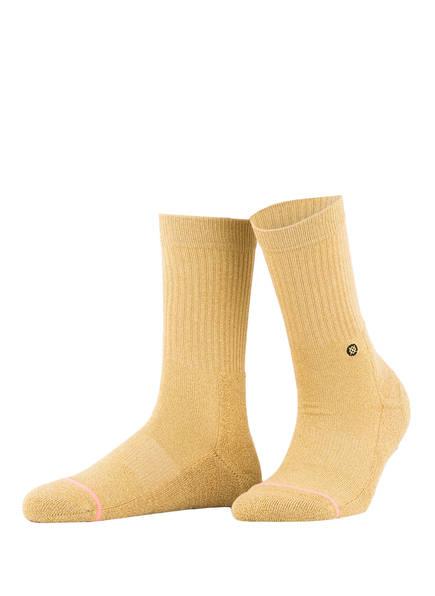 STANCE Socken UNCOMMON CLASSIC , Farbe: GOLD (Bild 1)