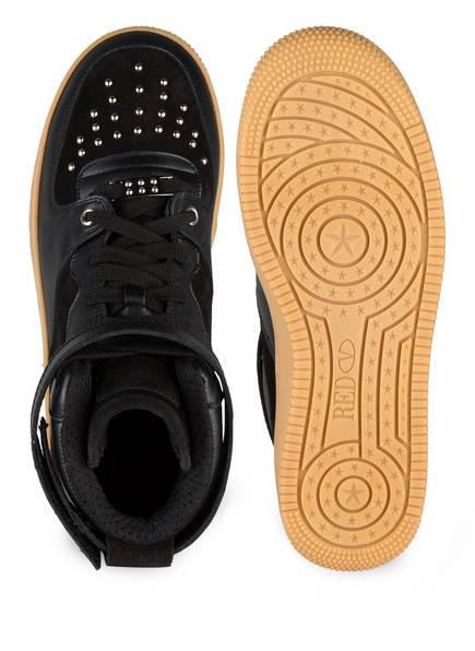 VALENTINO RED Hightop-Sneaker mit Nietenbesatz