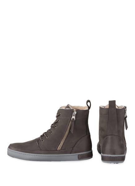 BLACKSTONE Hightop-Sneaker<br>          gef&uuml;ttert