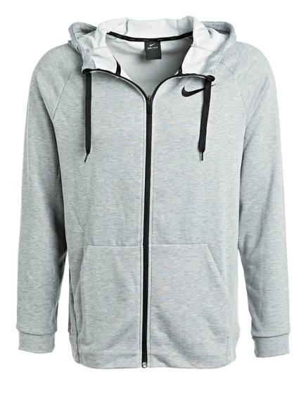 Nike Hoodie DRY , Farbe: GRAU MELIERT  (Bild 1)