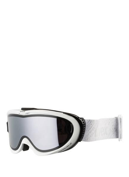 uvex Skibrille COMANCHE TOP, Farbe: WEISS/ SILBER (Bild 1)