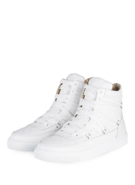 LOUIS LEEMAN Hightop-Sneaker, Farbe: WEISS (Bild 1)