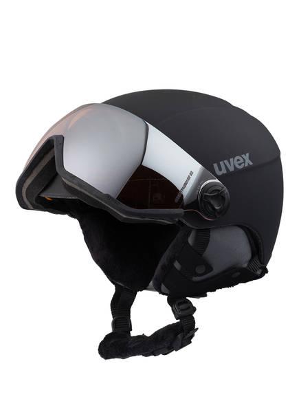uvex Skihelm 400 VIZOR , Farbe: SCHWARZ (Bild 1)