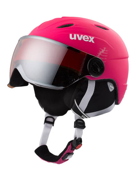 uvex Skihelm JUNIOR VISOR PRO, Farbe: PINK (Bild 1)