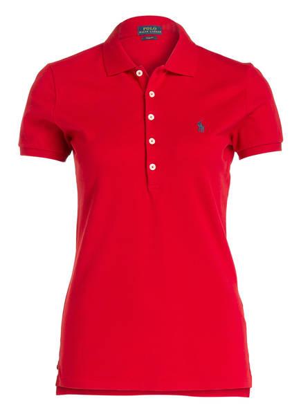 POLO RALPH LAUREN Piqué-Poloshirt , Farbe: ROT (Bild 1)