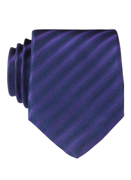 OLYMP Krawatte, Farbe: VIOLETT/ SCHWARZ (Bild 1)