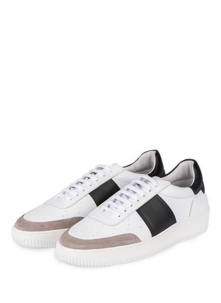 sandro Sneaker, Farbe: WEISS/ SCHWARZ/ TAUPE (Bild 1)