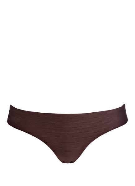 miléa Bikini-Hose MINI RIB, Farbe: BRAUN (Bild 1)
