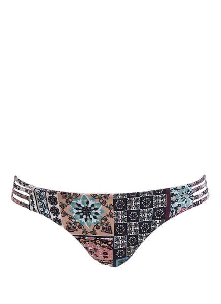 miléa Bikini-Hose TURKISH TILE zum Wenden, Farbe: BORDEAUX/ BLAU (Bild 1)
