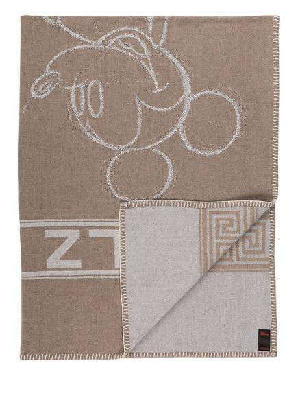 zoeppritz Plaid MICKEY, Farbe: TAUPE/ BEIGE (Bild 1)