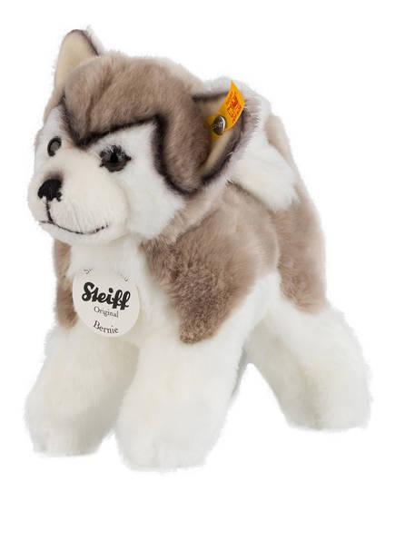 Steiff Husky-Kuscheltier BERNIE, Farbe: TAUPE/ CREME (Bild 1)