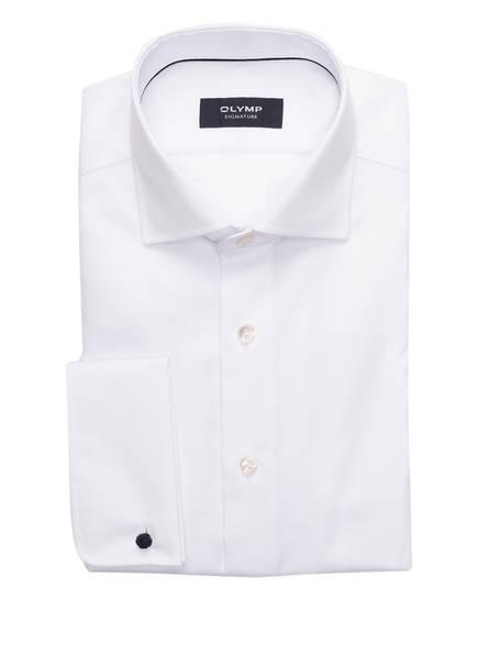 OLYMP SIGNATURE Hemd tailored fit mit Umschlagmanschette, Farbe: WEISS (Bild 1)