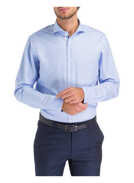 Hellblau Olymp Signature Fit Hemd Weiss Tailored 7UnFqCwI