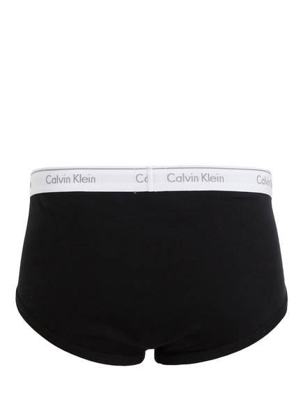 Calvin Weiss Klein Schwarz 3er Grau pack Slips 7vB7w