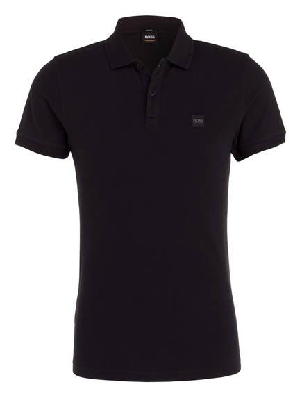 BOSS Piqué-Poloshirt PRIME Slim Fit, Farbe: SCHWARZ (Bild 1)