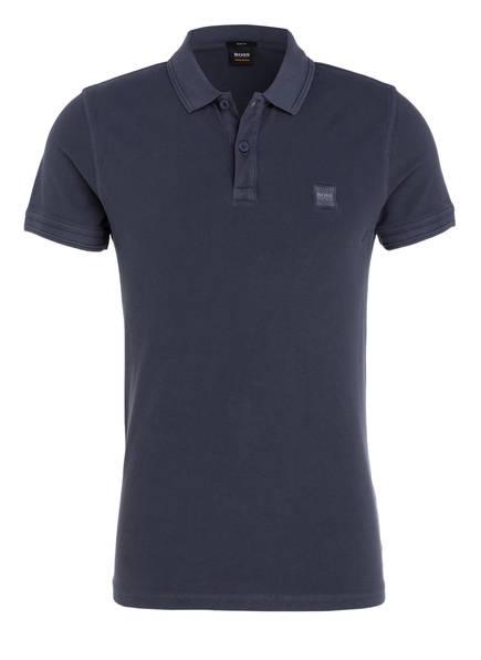 BOSS Piqué-Poloshirt PRIME Slim Fit, Farbe: DUNKELBLAU (Bild 1)