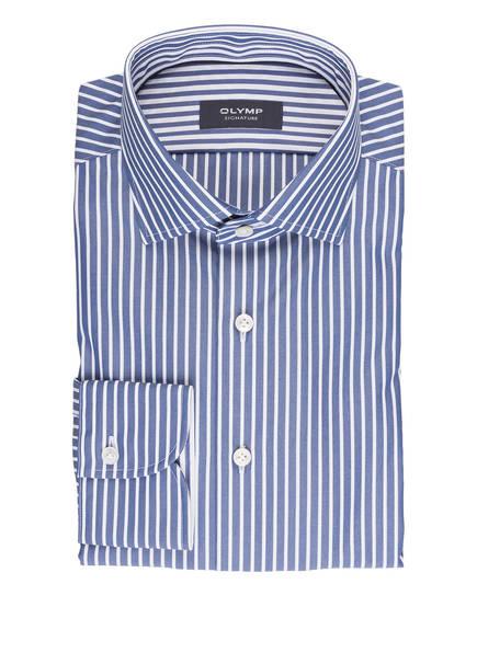 OLYMP SIGNATURE Hemd tailored fit, Farbe: WEISS/ BLAU  (Bild 1)