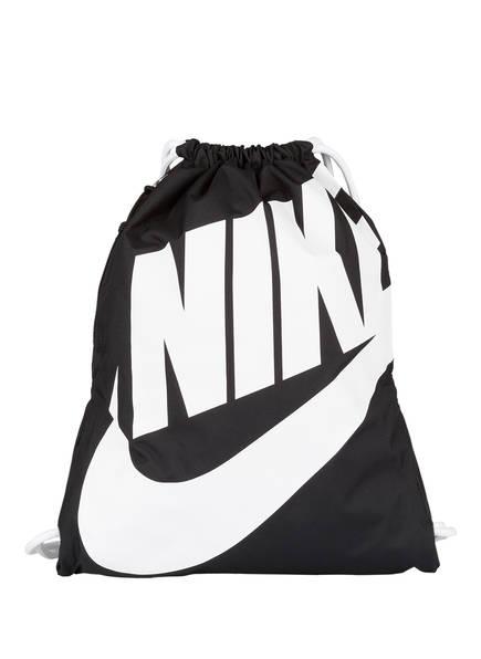 Nike Trainingsbeutel HERITAGE , Farbe: 011 BLACK (Bild 1)