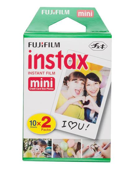 FUJIFILM Instant-Film INSTAX MINI GLOSSY, Farbe: WEISS (Bild 1)