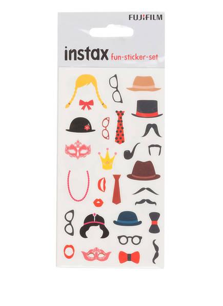 FUJIFILM Sticker-Set INSTAX FUN, Farbe: SCHWARZ/ ROT/ BRAUN (Bild 1)