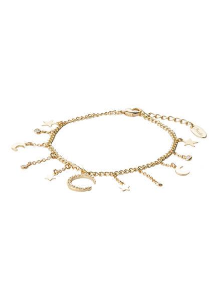 ORELIA Armband COSMIC, Farbe: GOLD  (Bild 1)