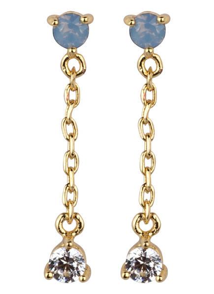 ORELIA Ohrringe, Farbe: GOLD (Bild 1)