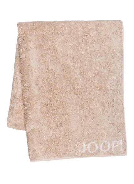 JOOP! Saunatuch CLASSIC DOUBLEFACE , Farbe: HELLBRAUN  (Bild 1)