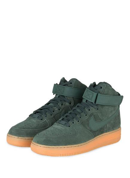Nike Hightop-Sneaker AIR FORCE 1 HIGH '07 LV8, Farbe: GRÜN (Bild 1)