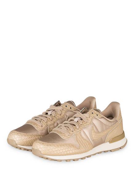 more photos 73be4 7df48 ... spain nike sneaker internationalist premium farbe beige gold metallic  bild 1 a9828 effaa