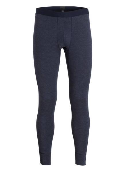 SCHIESSER Lange Unterhose PERSONAL FIT, Farbe: NACHTBLAU MELIERT (Bild 1)