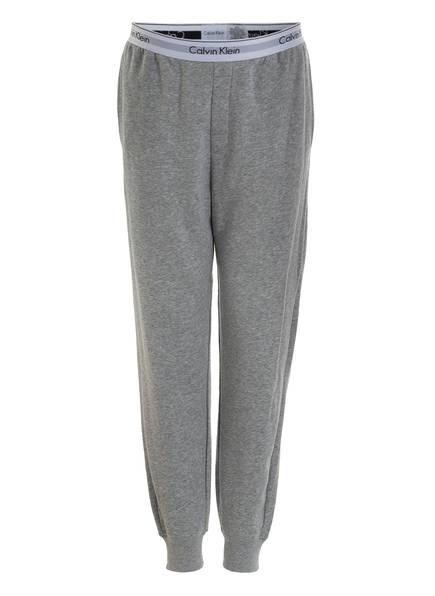 Calvin Klein Lounge-Sweatpants, Farbe: GRAU MELIERT (Bild 1)